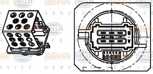 Резистор печки