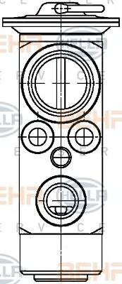 Расширительный клапан кондиционера