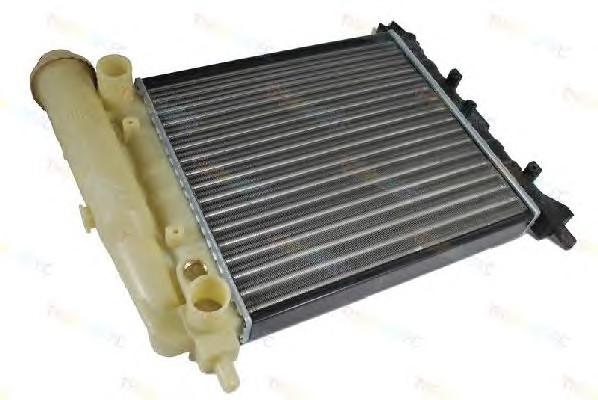 радиатор охлаждения двигателя fiat uno