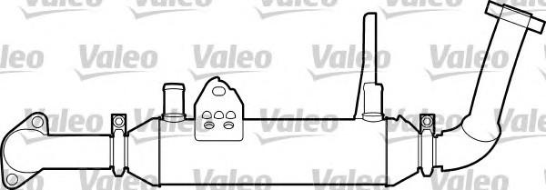 Радиатор системы рециркуляции ОГ