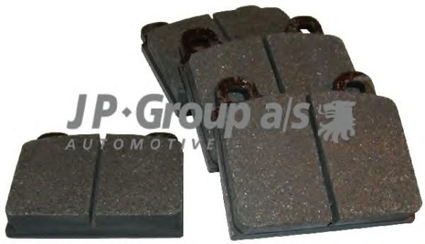 Комплект тормозных колодок, дисковый тормоз CLASSIC