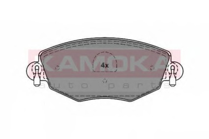 Комплект тормозных колодок, дисковый тормоз KONACO